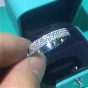 925 Sterling silver Cz Engagement ring